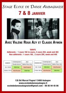 STAGE DANSE CLAUDE AYMON & VALENE ROUX-AZY - 7 & 8 JANV @ EDA | Aubagne | Provence-Alpes-Côte d'Azur | France