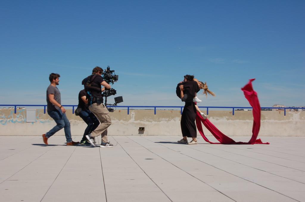 Photo tournage